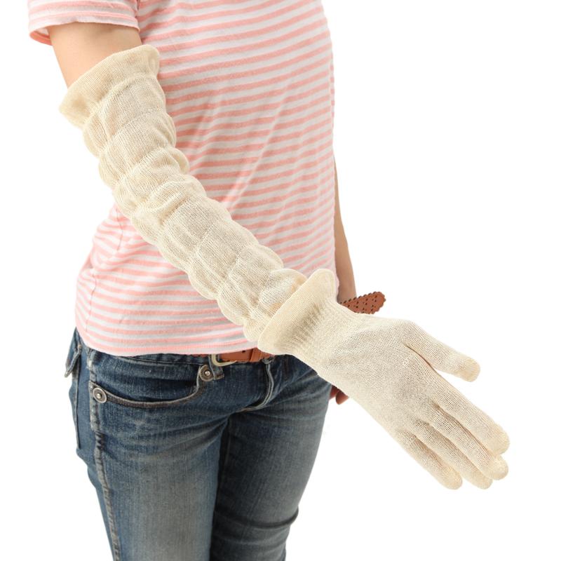 足首ウォーマーとおやすみ手袋