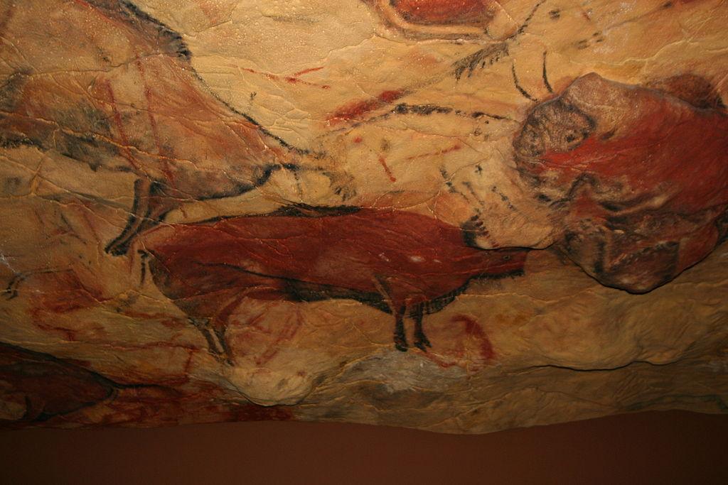 アルタミラ洞窟の壁画も「ベンガラ」を用いられた(Wikipediaより)