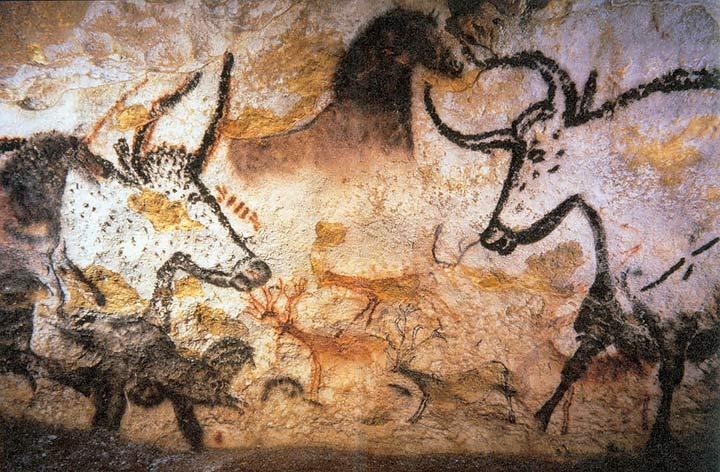 ラスコー洞窟(フランス)の壁画は「ベンガラ」染料で描かれた