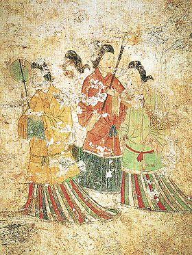 高松塚古墳の壁画にもベンガラが利用