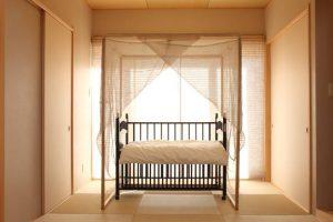 麻蚊帳 ~小ぶりタイプ